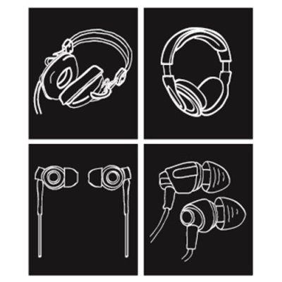 3 poros ausinių, kurias privalo turėti kiekvienas
